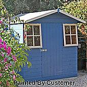 Casita Summerhouse Shed 7x7 by Finewood