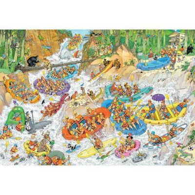 Wild Water Rafting - 3000pc - JvH Puzzle