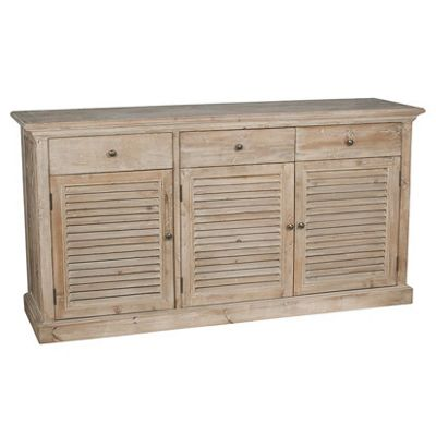 Natural Reclaimed Fir Wood 3 Door 3 Drawer Unit