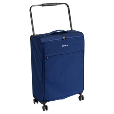 Buy ZFrame 8-Wheel Large Blue Suitcase from our Lightweight Cases ...
