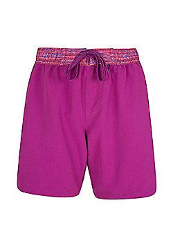 Mountain Warehouse Long Womens Boardshorts - Pink