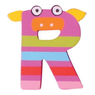 Tatiri Crazy Animals Letter R (Purple Pig)