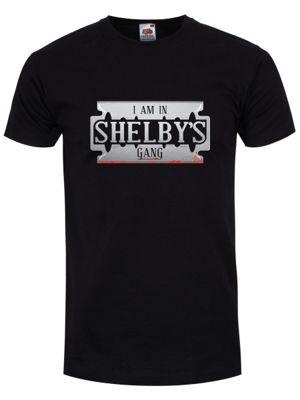 I Am In Shelby's Gang Men's T-shirt, Black.