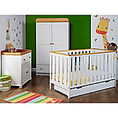Obaby York 3 Piece Furniture Set - White