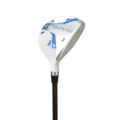Young Gun Sgs V2 Junior Golf Club 3 Wood Right Hand Blue Age 6-8