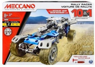MECCANO 10 in 1 Rally Racer Set