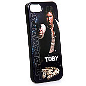 Star Wars Personalised iPhone 5/5s Cover - Classic Han Solo