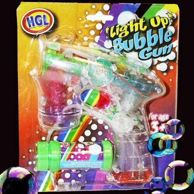 Light Up Bubble Gun