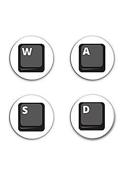 PC Gamer Direction Keys Badge Pack - Multi