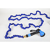 25ft Expanding Easy Hose w/8 function gun - Blue