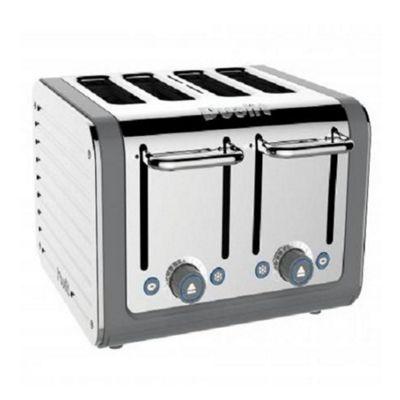 Dualit Architect 4 Slot Toaster, Grey