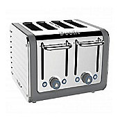 Dualit Architect 4 Slot Toaster, Grey