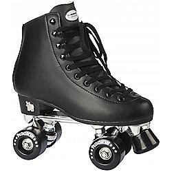 Rookie Classic Black Quad Roller Skates - Multi