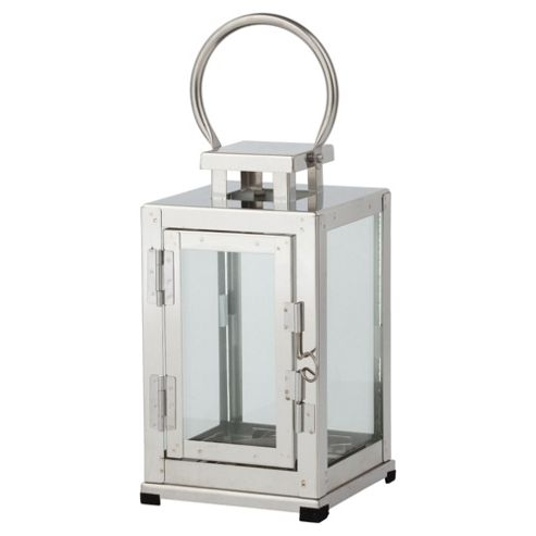 Classic stainless Steel Lantern Small
