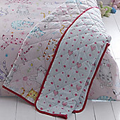 Cats Quilted Throw