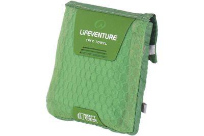 Lifeventure SoftFibre Trek Towel Pocket Green