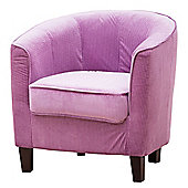 Sofa Collection Laurent Tub Chair - Lilac