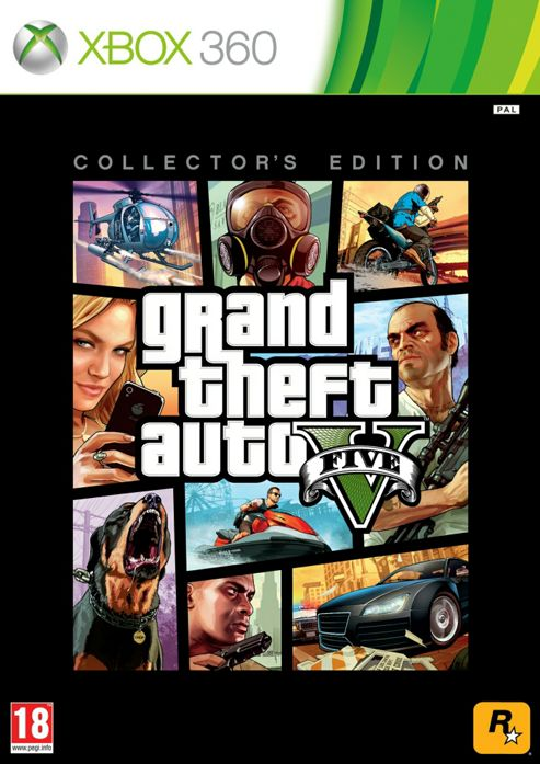 Grand Theft Auto V Collectors Edition
