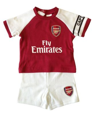 Arsenal Baby Kit T-Shirt & Shorts Set - 2017/18 Season
