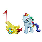 My Little Pony Royal Spin-Along Chariot - Rainbow Dash