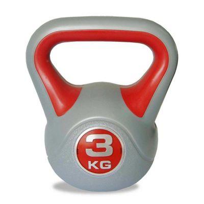Body Power 3kg Vinyl Kettlebell
