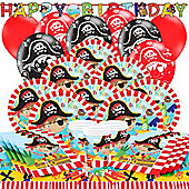 Little Pirate Party Pack - Deluxe Party for 16
