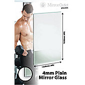 New 4Mm Thick Large Mirror Glass Gym Or Dance Studio 6 X 4 (183Cm X 122Cm)