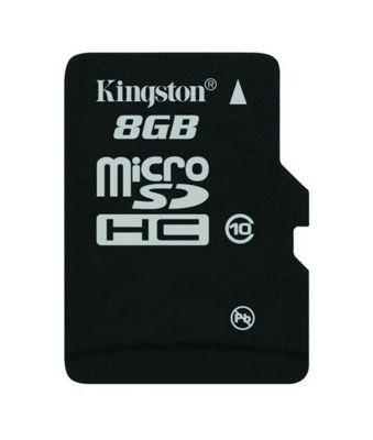 Kingston microSDHC 8GB Class 10 Card