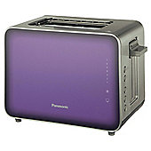 Panasonic NT-ZP1VXC 2 2 Slice Toaster - Purple