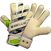 Sells V. V. Pro Terrain Junior Goalkeeper Gloves - White