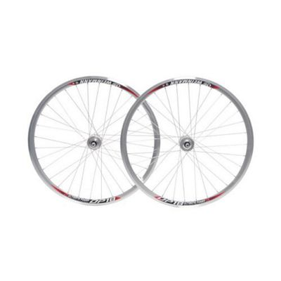 700c DP18/Miche Fixed/Free silver Wheelset