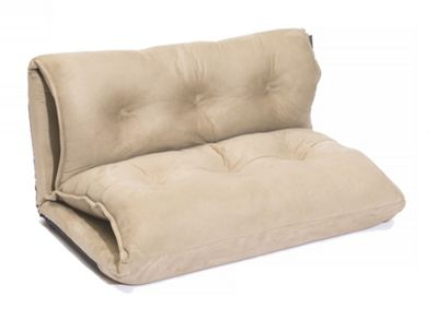 Sofa Collection Aubin Futon Sofabed - 1 Seat - Cream