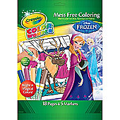 Crayola Disney Frozen Mess Free Colour Wonder