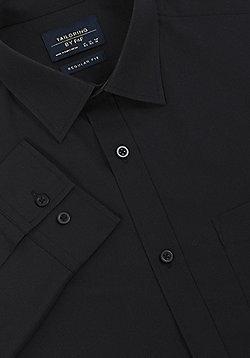 F&F Regular Fit Long Sleeve Shirt - Black