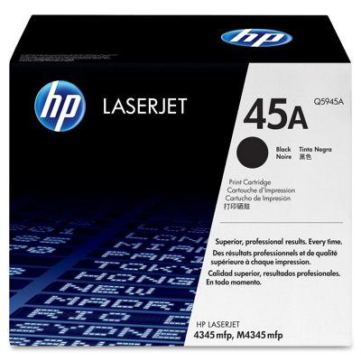 HP 45A Black Smart LaserJet Print Cartridge for the HP LaserJet 4345mfp (Yield 18,000 Pages)