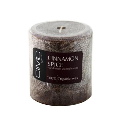 Cinnamon Spice Scented Small Pillar Candle