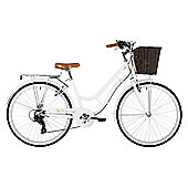 "Classic Heritage 16"" Step Through Frame Bike White"