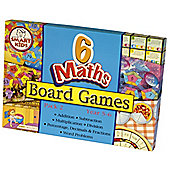 Smart Kids Six Maths Board Games - Pack 2