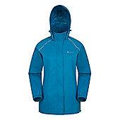Mountain Warehouse Pakka Womens Waterproof Jacket - Ocean blue