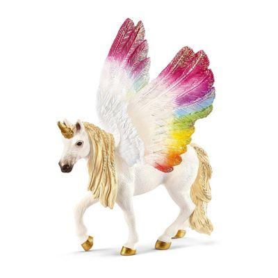 Schleich 70576 Winged Rainbow Unicorn, Foal