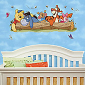 Baby Wall Stickers, Winnie The Pooh Wall Stickers, Winnie the Pooh & Friends Mural