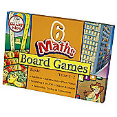 Smart Kids Six Maths Board Games - Basic