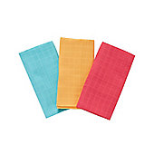 Mothercare Baby's Fairground Extra Large Muslin Cloths - 3 Pack