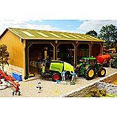 Brushwood Bbb160 Open Barn - 4 Bays Big Basics - 1:32 Farm Toys