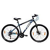 Tiger ACE 27.5 Front Suspension Mountain Bike Black Blue