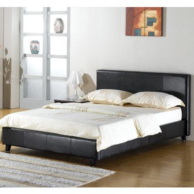 Elements Prague Bed - Black - Double