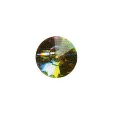 Hemline Diamante Crystal Buttons Multicolour 12.5mm 3pk