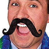 Amscan - Fiesta Moustache - Black