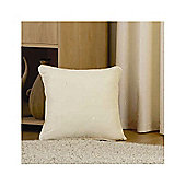 Dreams N Drapes Curtina Hudson Single Cushion Cover in Natural