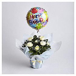 Birthday Rose Gift Wrap